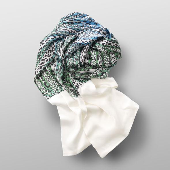 Silk satin scarf AUDRY