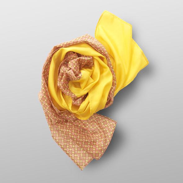 silk-cotton scarf SUNNY
