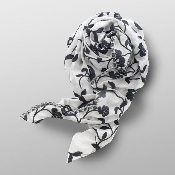Cotton foulard PAULA