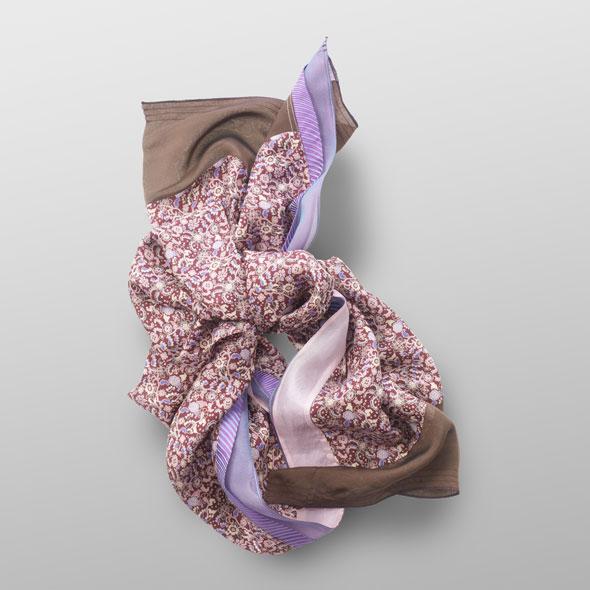 Soft silk carré SUSI