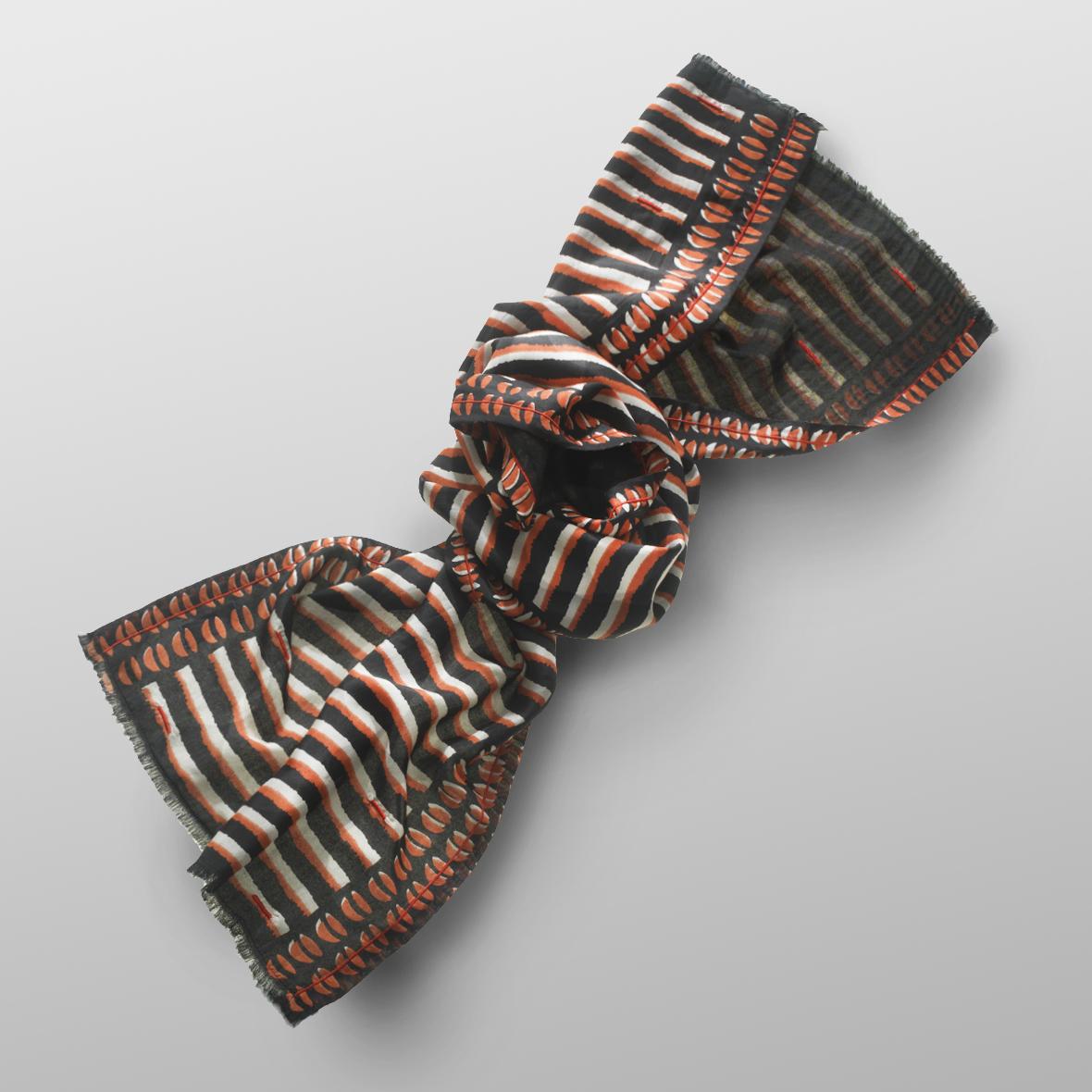 silk wool scarf RAISA
