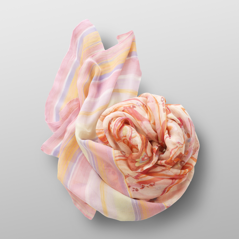 silk crêpe scarf PROVENCE